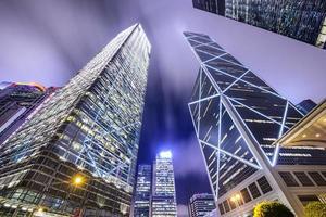horizonte de la ciudad de hong kong china