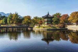 Hyangwonjeong autumn reflections