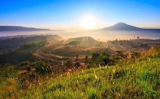 Parque nacional tung salang luang.hao kho phetchabun en tailandia
