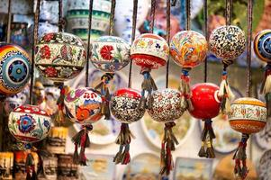 orinetal beads in grand bazaar, istanbul, turkey