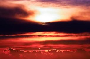 Beautiful sunset photo
