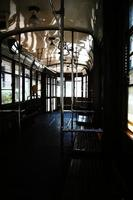Inside a trolley