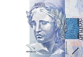 Smiling Brazilian Money