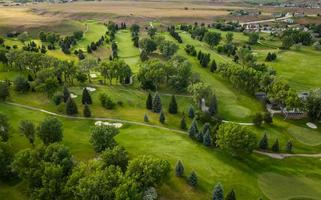 antena de campo de golfe