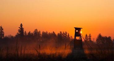 torre de vigilancia del cazador