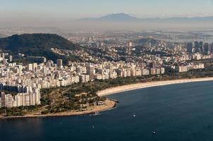 Playa Flamengo en Río de Janeiro, Brasil