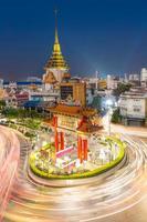 barrio chino de Bangkok foto