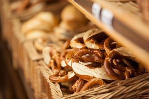 pretzel macio - padaria