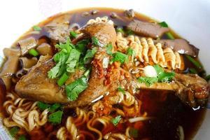 Duck noodle photo