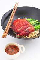 Roasted Duck nooddle with Sauce photo