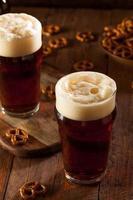 cerveza de otoño oktoberfest recién elaborada