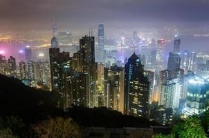 Victoria Peak en Hong Kong foto
