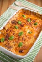 Home made Lasagna photo
