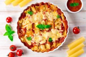 Pasta cannoli