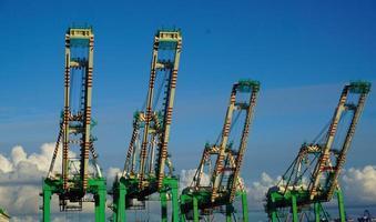 Industrial Cranes/ Los Angeles Harbor