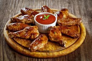 alitas de pollo Buffalo foto