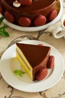 """delicioso pastel de mousse """"tiramisú"""" foto"""