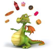 Fun dragon photo