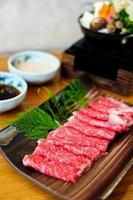 rundvlees voor shabushabu