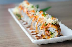 sushi roll maki - japanese food