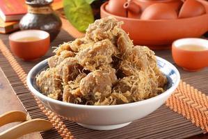 Dried soy bean curd