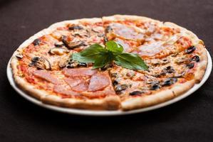 Four Season Pizza slice