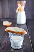 leche fresca foto