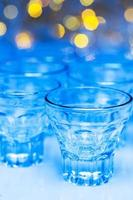 Glass with alcohol drink photo