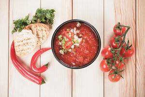 sopa de gazpacho