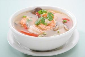 Tom Yum Kroong Soup photo