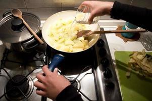 Potatoes soup photo