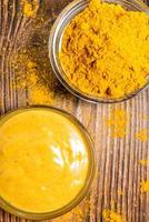 salsa de curry foto