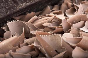rizos de chocolate foto