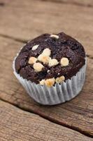 muffin de chocolate. foto