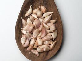 garlic , Cooking spices photo