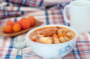 Cooked chickpeas