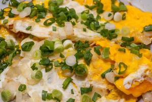 huevo frito foto