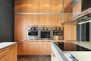 cocina moderna foto