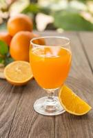 zumo de naranja foto