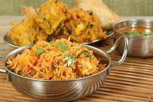 panir biryani photo