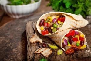 Burrito sandwich photo