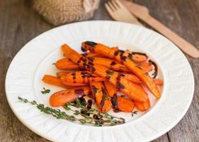 baked carrots photo