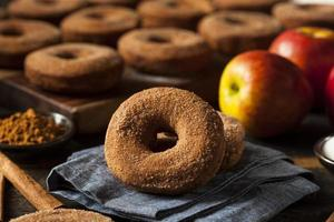 Warm Apple Cider Donuts