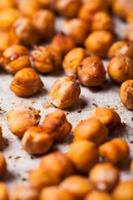 Spicy baked chickpeas photo