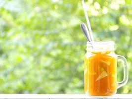 Carrot juice healthy diet food photo
