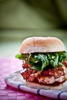 smakelijke hamburger