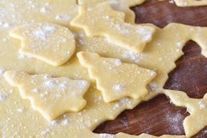 pâte à biscuits de Noël, emporte-pièces