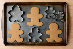 Gingerbread Man Cookies and Cutters