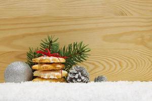 Christmas cookies .