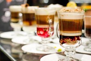 café hecho en casa foto